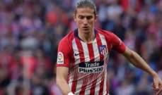 اتلتيكو مدريد يعلن عن إصابة فيليبي لويس