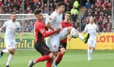 الدوري الألماني: التعادل الإيجابي يخيّم على مباراة فرايبورغ وفورتونا دوسلدورف