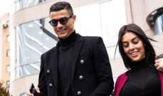 جورجينا مع ابن رونالدو في النادي الرياضي