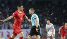 يورو 2020: سويسرا تتخطى جورجيا بهدفين مقابل لا شيء