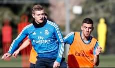 تدريبات ريال مدريد قبل لقاء غيرونا