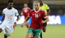 نور الدين امرابط افضل لاعب في مباراة المغرب وساحل العاج