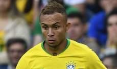 إيفرتون البرازيلي: الانتقال إلى مانشستر يونايتد يناسبني
