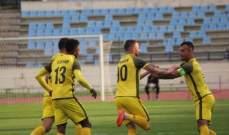 الدوري اللبناني: العهد يفوز على الساحل ويبتعد بالصدارة