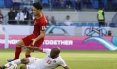 فيتنام تقصي الأردن من بطولة كأس آسيا عن طريق ركلات الترجيح