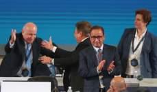 حيدر يفوز بعضوية اللجنة التنفيذية للاتحاد الاسيوي