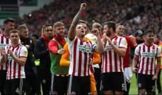شيفلد يونايتد يصعد رسميًا إلى الدوري الإنكليزي الممتاز