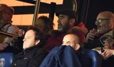 مشادة كلامية بين والد نيمار وكانتونا خلال مباراة دوري الأبطال