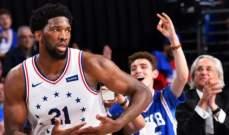 NBA: فيلادلفيا يتقدم على رابتورز 2-1