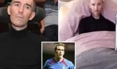 لاعب كرة قدم سابق يقرر إنهاء حياته ويدعو الجماهير لتوديعه