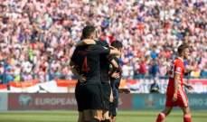 تصفيات يورو 2020: كرواتيا تتخطى ويلز وفوز أيسلندا على ألبانيا