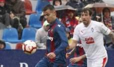 الدوري الاسباني: ايبار يخطف نقطة ثمينة من معقل ليفانتي