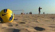 البطولة الشاطئية: شباب الجناح يكتسح شباب الساحل بسداسية
