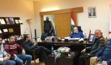 إكتمال التحضيرات لمباراة النجمة اللبناني والجيش السوري