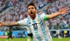 مشاورات حول عودة ميسي إلى المنتخب الأرجنتيني