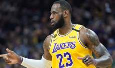 NBA: ميلووكي يتخطى نيو اورليانز والليكرز يفوز على السبيرز ليعززا صدارتهما