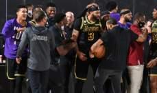 NBA: ليكرز يفوز على ناغتس ويتقدم 2-0 في السلسلة