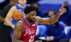 NBA: الصراع مستمر بين فيلادلفيا وبروكلين على الصدارة شرقياً