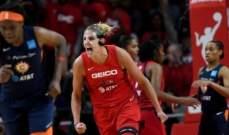 WNBA: واشنطن ميستيكس يحرزن اللقب لاول مرة في مسيرتهن