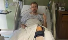 هاري كاين يغيب عن توتنهام حتى نيسان بعد عملية جراحية ناجحة