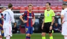 الحكم الرئيسي للكلاسيكو تغاضى عن قرار مساعده في منحه ركلة الجزاء للريال