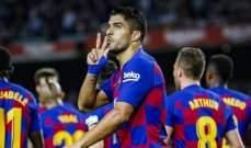 برشلونة يكتسح اشبيلية برباعية نظيفة وميسي يزور الشباك في الموسم الجديد