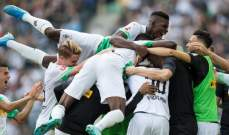 الدوري الألماني: مونشنغلادباخ يقلب النتيجة ويفوز على دوسلدروف