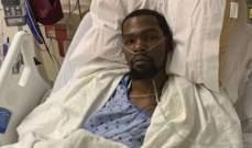 دورانت بين لاعبي بروكلين نتس المصابين بفيروس كورونا
