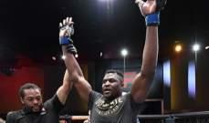نغانو اول بطل عالم افريقي للوزن الثقيل في UFC