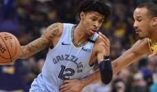 NBA: الواريرز ينهي سلسلة هزائمه وسقوط الليكرز امام ميمفيس
