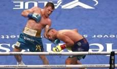 كانيلو يلحق الخسارة الاولى بساوندرز في عالم الملاكمة