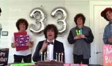 دافيد لويز يستنسخ نفسه ليحتفل بعيد ميلاده ال 33