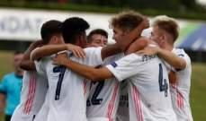 ريال مدريد يتوج بلقب دوري الابطال للشباب للمرة الاولى بفوزه على بنفيكا