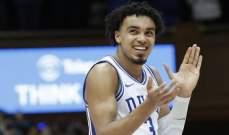 جونز يعلن مشاركته في مسودة NBA 2020