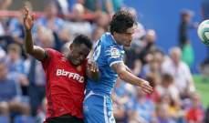 الدوري الاسباني: خيتافي يتخطى ريال مايوركا برباعية