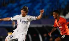 مودريتش يتحدث عن خسارة ريال مدريد امام شاختار