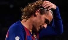 ديشان: وضع غريزمان في برشلونة ليس كارثيا