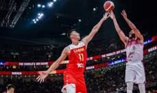 كأس العالم لكرة السلة: الصين تسقط على أرضها أمام فنزويلا وصربيا تفوز