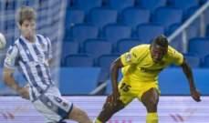 الليغا: ريال سوسييداد يكتفي بالتعادل الايجابي امام فياريال