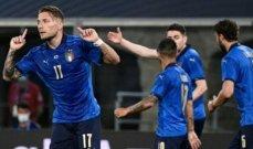 وديا ايطاليا تتخطى تشيكيا برباعية وسلوفينيا تكتسح جبل طارق