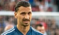 ابراهيموفيتش يعلن عن الفريق الذي سينهي معه مسيرته