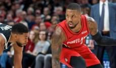 NBA: ستون نقطة ليلارد و52 نقطة لراسل لم تسعفا فريقهما للفوز