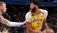 NBA: الليكرز يستعيد توازنه ويتفوق على سكرامنتو