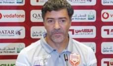 سوزا: المباراة كانت صعبة امام عمان