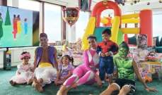 رونالدو يحتفل مع عائلته بعيد مولد توأميه