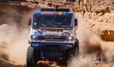 فريق كماز يسيطر على المرحلة الخامسة من فئة الشاحنات في رالي داكار