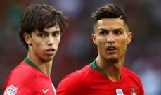 فيليكس: أرغب باللعب مع رونالدو على مستوى الأندية