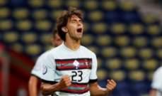 جواو فيليكس يسجل اول اهدافه بقميص البرتغال