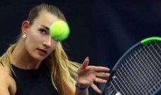 اعتقال لاعبة التنس الروسية سيزياكوفا في رولان غاروس