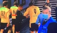 حكم مباراة دورتموند والسيتي يطلب امضاء هالاند